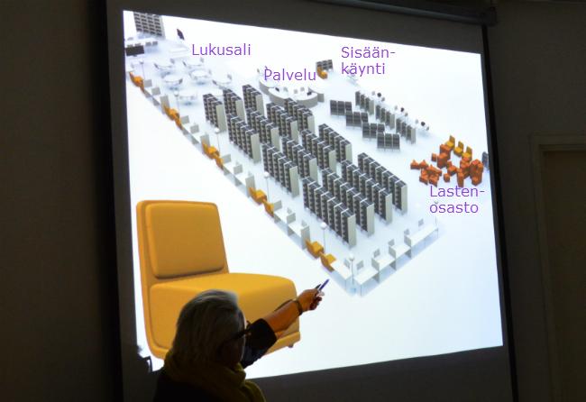 3D-pohjapiirros, jossa näkyy osastojen uusi sijoittelu.