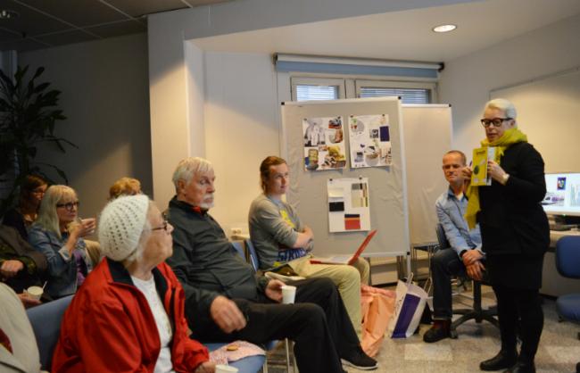 Isa Kukkapuro-Enbom esittelee Trash Designin periaatteista kertovaa kirjaa