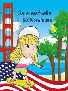 Sara matkalla Kaliforniassa