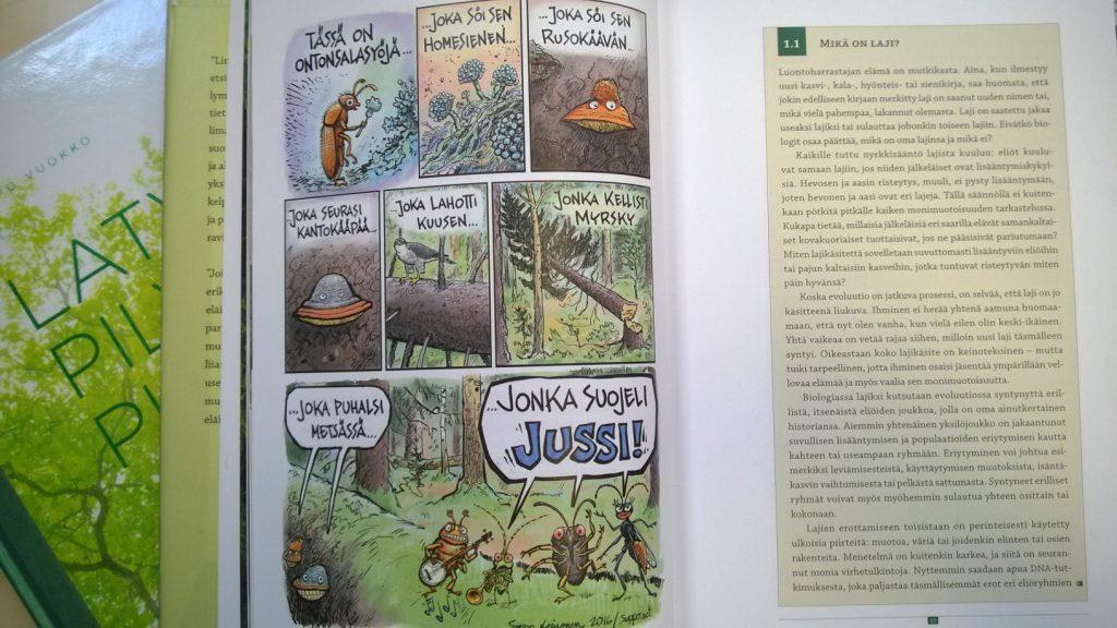 Metsän salainen elämä_sivu