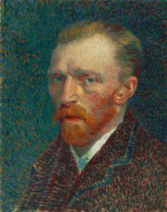 Vincent van Goghin omakuva, 1887. Kuva: The Art Institute of Chicago, Joseph Winterbotham Collection.